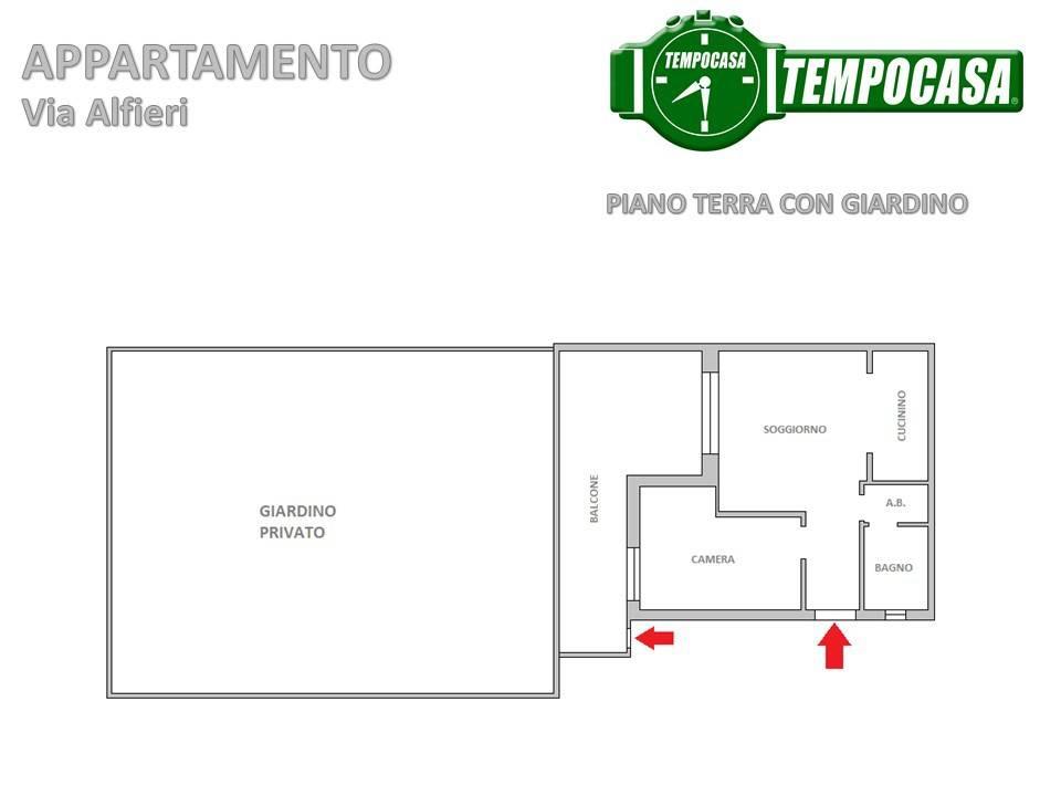 Appartamento in buone condizioni parzialmente arredato in vendita Rif. 8914715