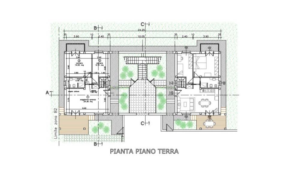 Appartamenti in Quadrifamiliare
