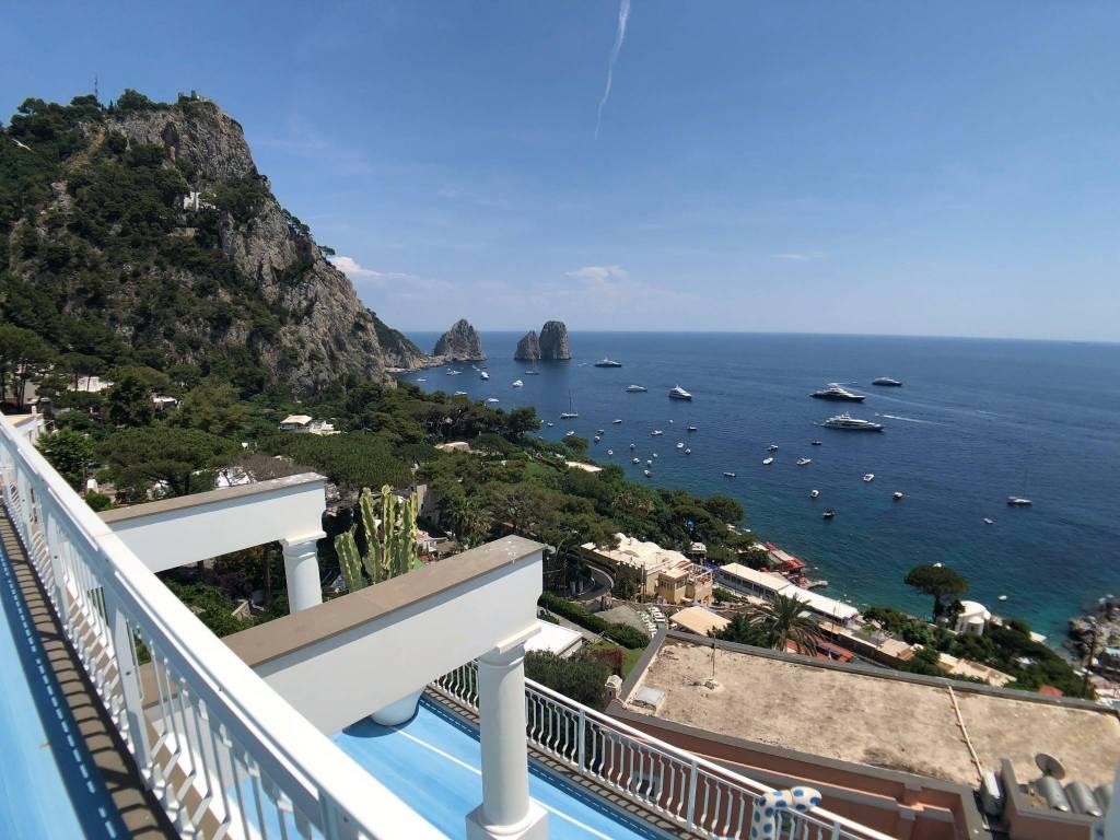 Appartamento panoramicissimo Via Marina Piccola 45 Capri