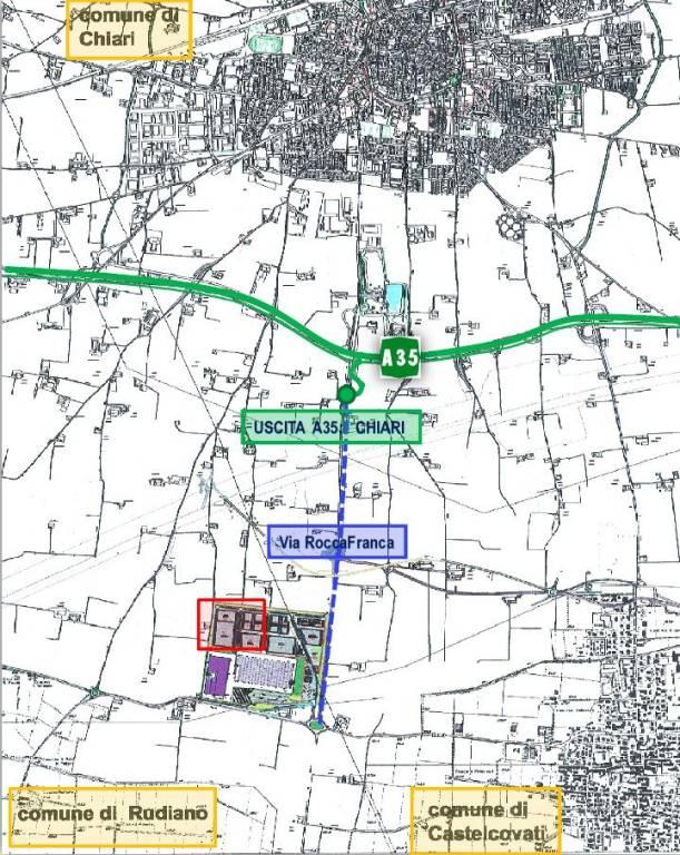 Terreno commerciale in Vendita a Chiari Centro: 20000 mq