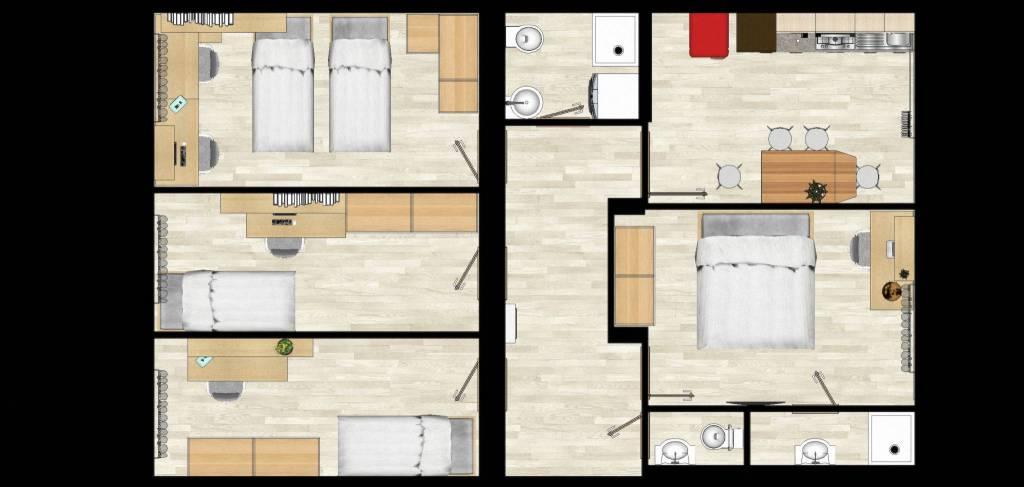 Stanza / posto letto in affitto Rif. 7496103