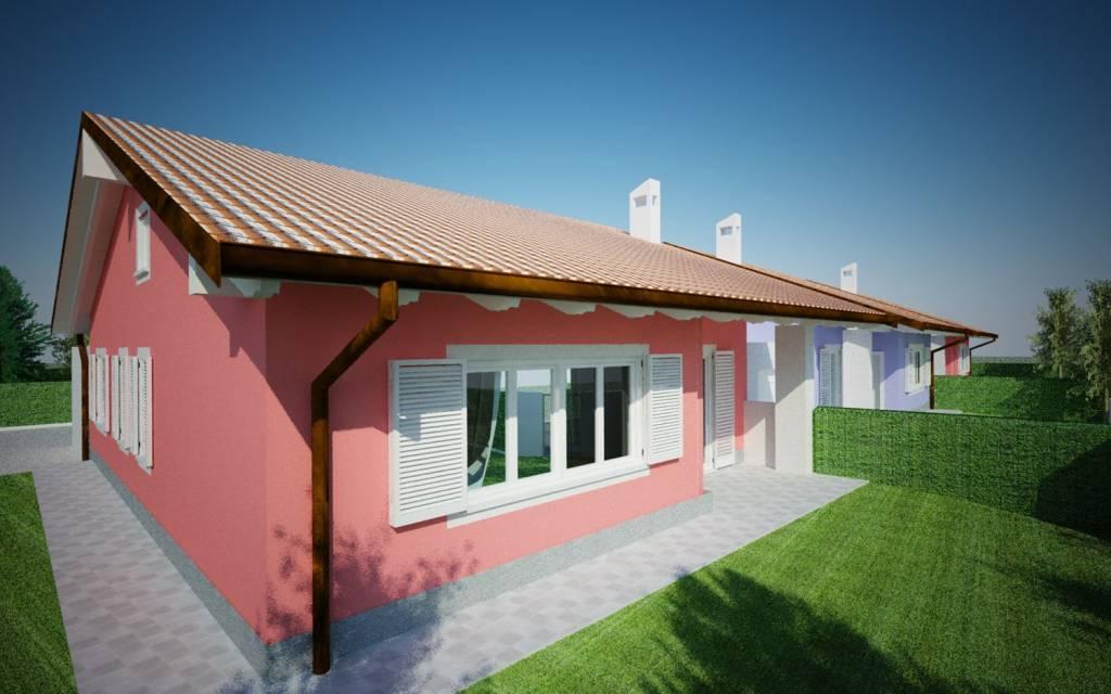 Villa unifamiliare in corso di costruzione