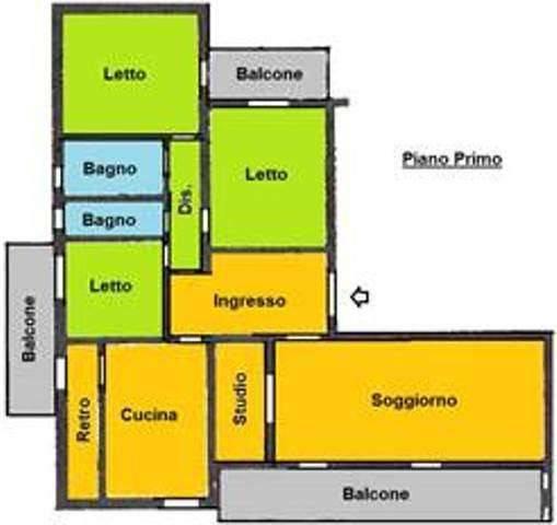 Appartamento in buone condizioni in vendita Rif. 7577720