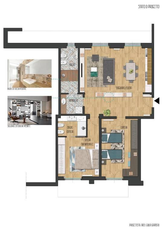 Appartamento in ottime condizioni in vendita Rif. 7593808