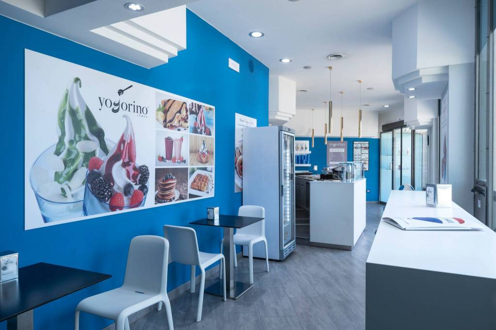 Attività di yogurteria a Tarquinia Lido