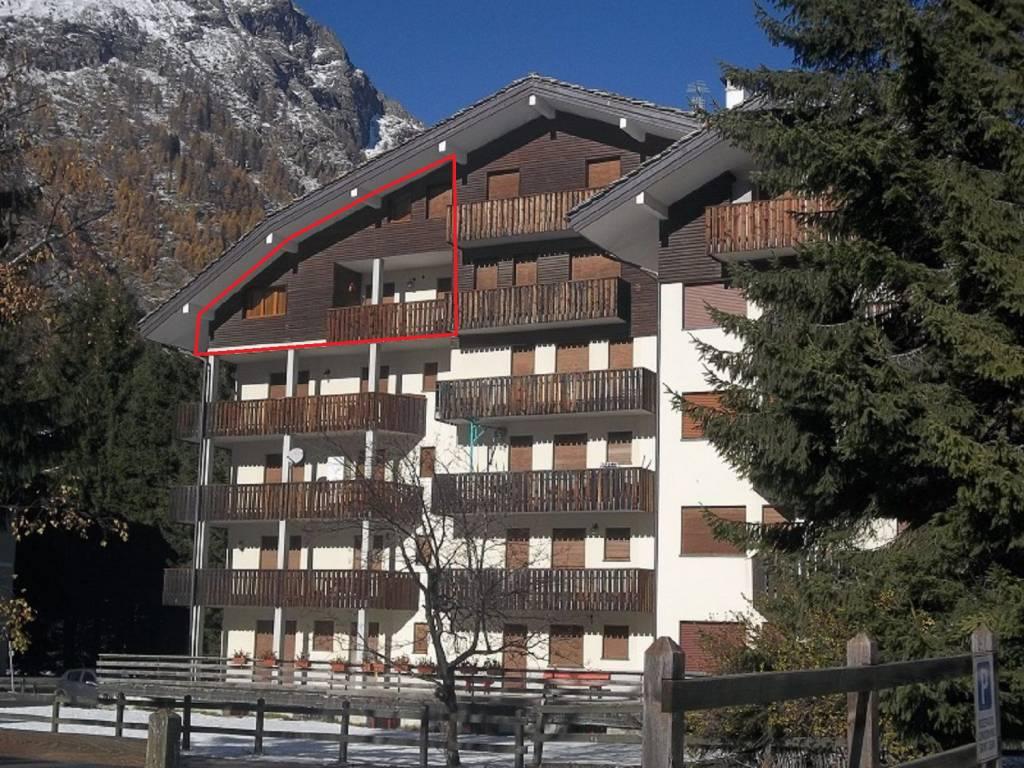 Appartamento in vendita a Gressoney-Saint-Jean, 4 locali, prezzo € 590.000 | CambioCasa.it