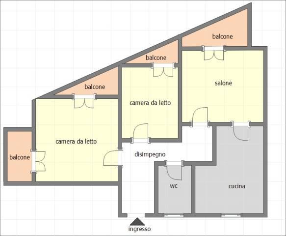 Appartamento in ottime condizioni in vendita Rif. 5888019