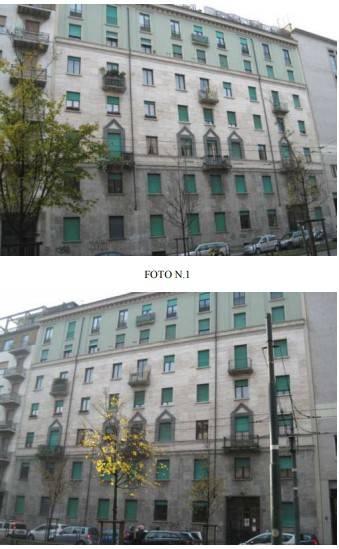 Appartamento in vendita 3 vani 142 mq.  via Tonale 9 Milano