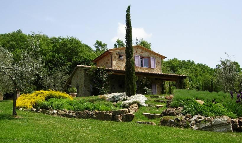 Vacchereccia, casa di campagna in posizione panoramica