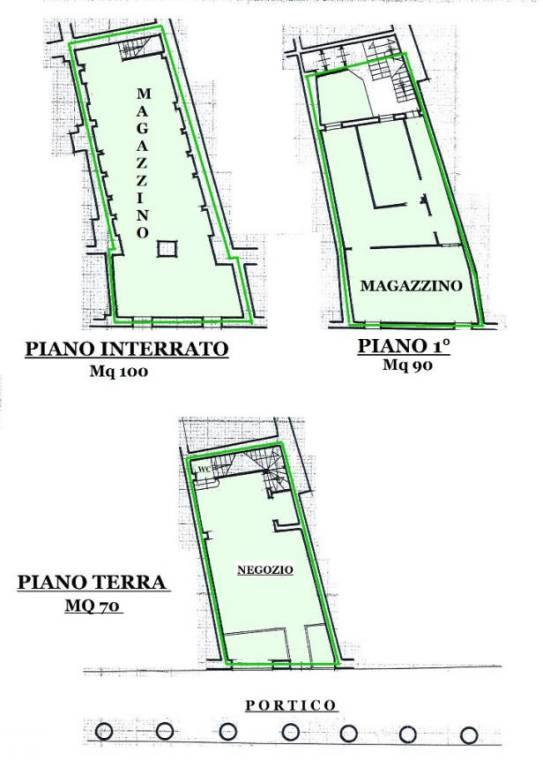 Negozio con Vetrine in zona di Fortissimo Passaggio Pedonale Rif. 7846030