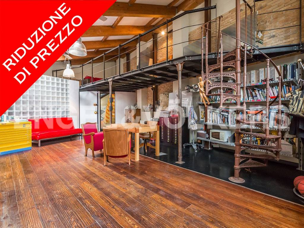Loft open space in Vendita a Roma via vittor pisani