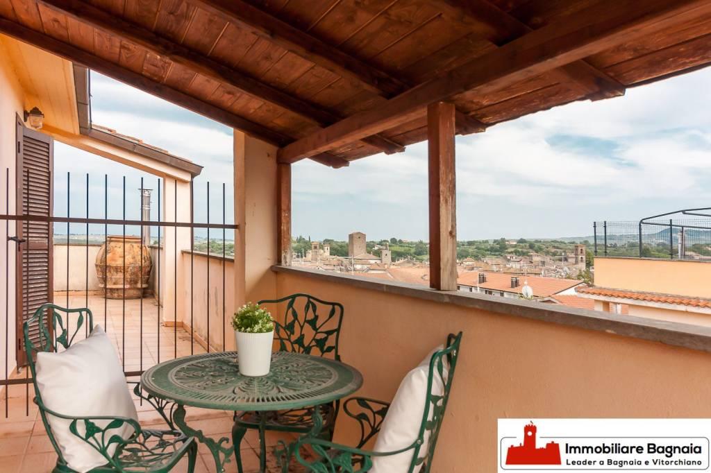 Vitorchiano, con giardino e garage 123.000 euro