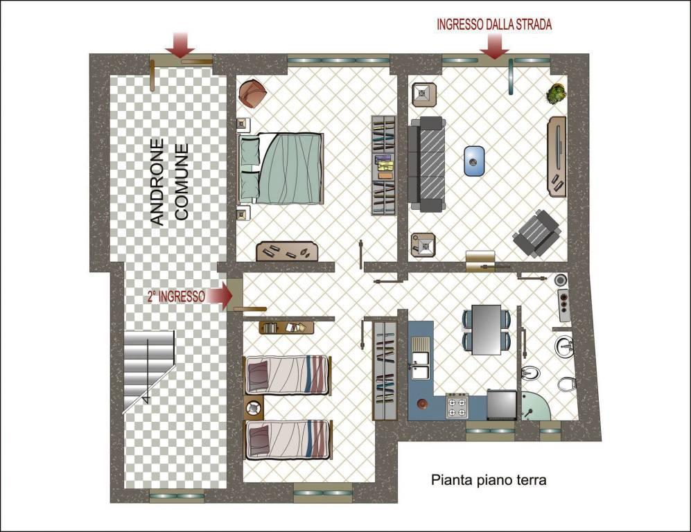 Appartamento da ristrutturare in vendita Rif. 7871366