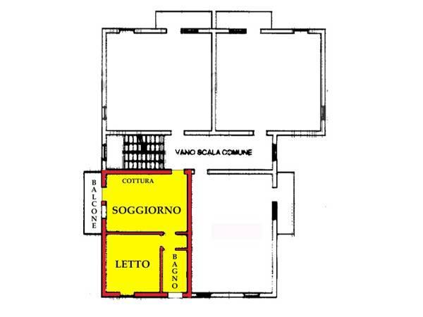 Appartamento in buone condizioni in vendita Rif. 7907388