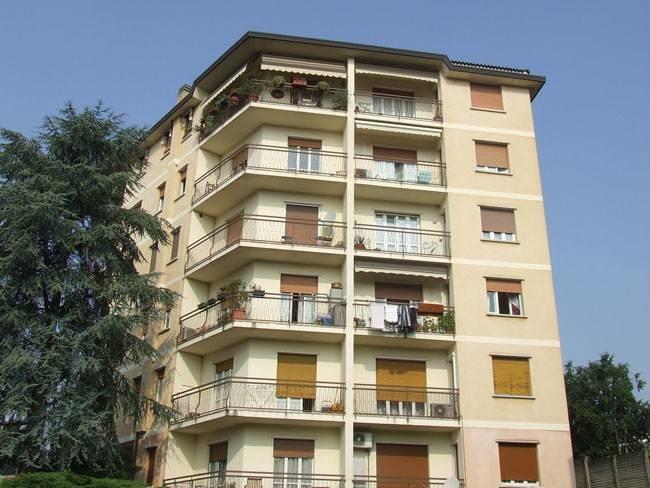 Bulciago: Ampio tre locali con balconi e box