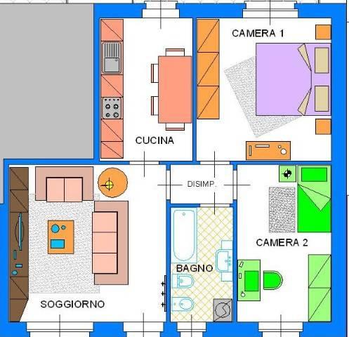 Appartamento in affitto a Lungavilla, 3 locali, prezzo € 400 | CambioCasa.it