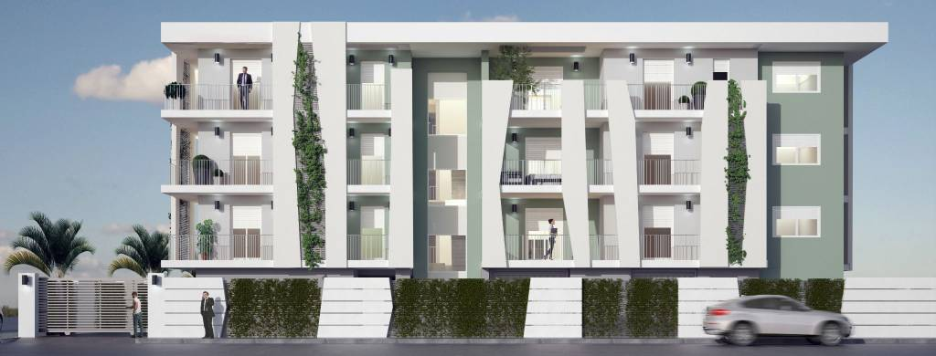 Appartamenti in costruzione zona comune