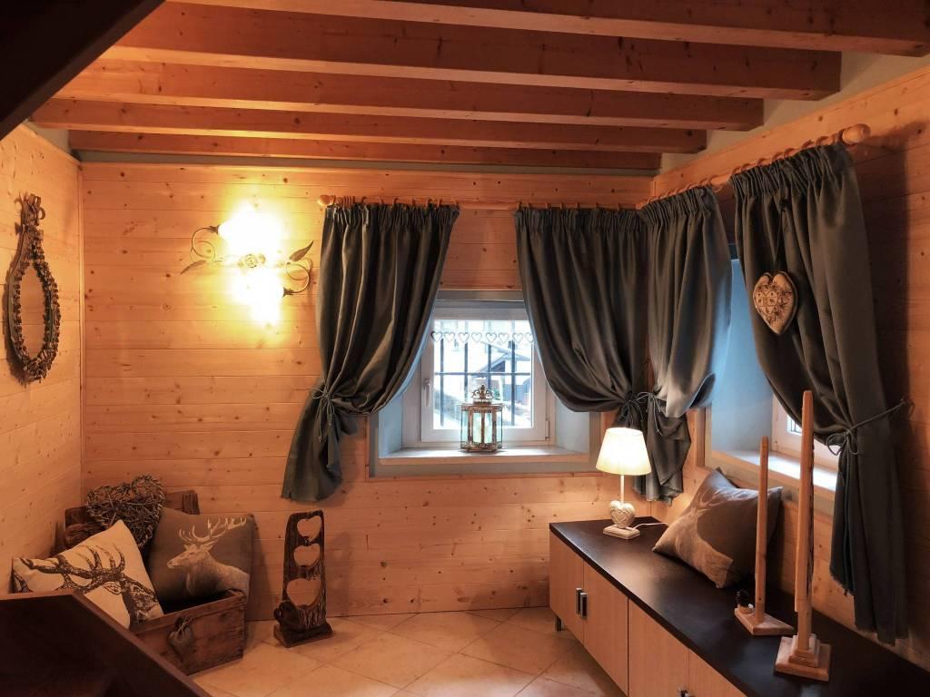 Mini appartamento in stile montano