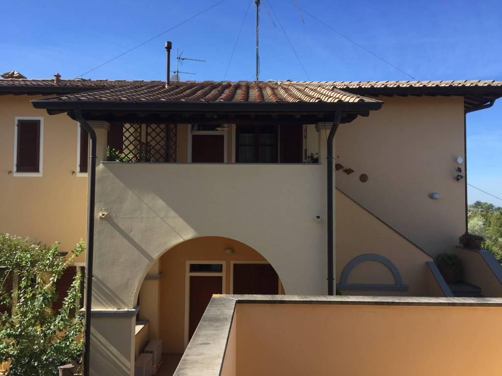 Palaia - San Gervasio. Luminoso appartamento