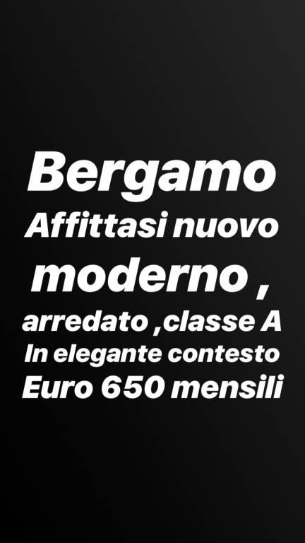 Bergamo affittasi bilocale