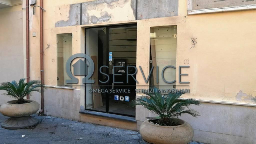 Locale commerciale 70 mq via San Carlo