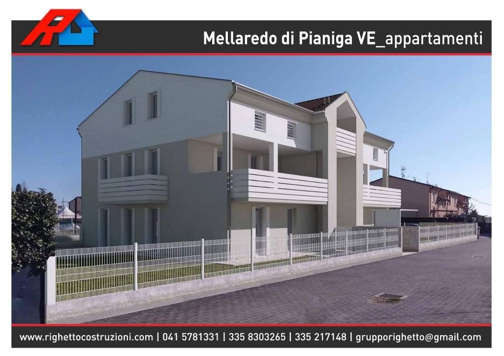 Mellaredo di Pianiga, Appartamento 3 camere, ampia terrazza