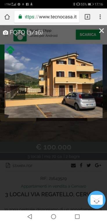 Appartamento in vendita a Cervaro, 3 locali, prezzo € 100.000 | CambioCasa.it