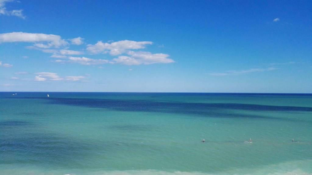 Bilocale fronte mare a 50 metri dalla spiaggia.