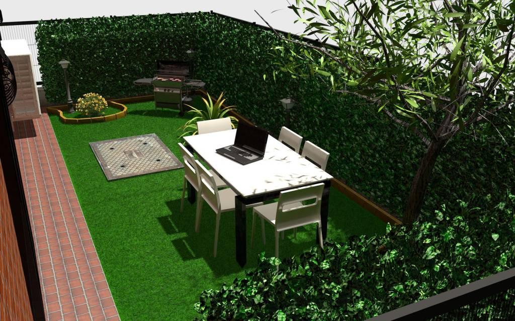 Appartamento con spazio esclusivo