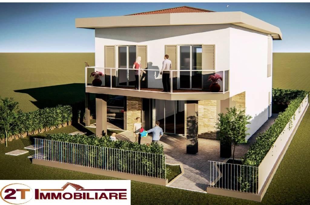 Nuova costruzione, villa monofamiliare di 120 mq su 2 livell