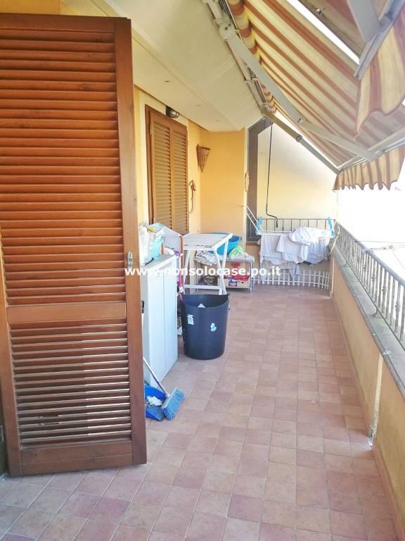 Seano 4 vani con terrazza e garage ultimo piano