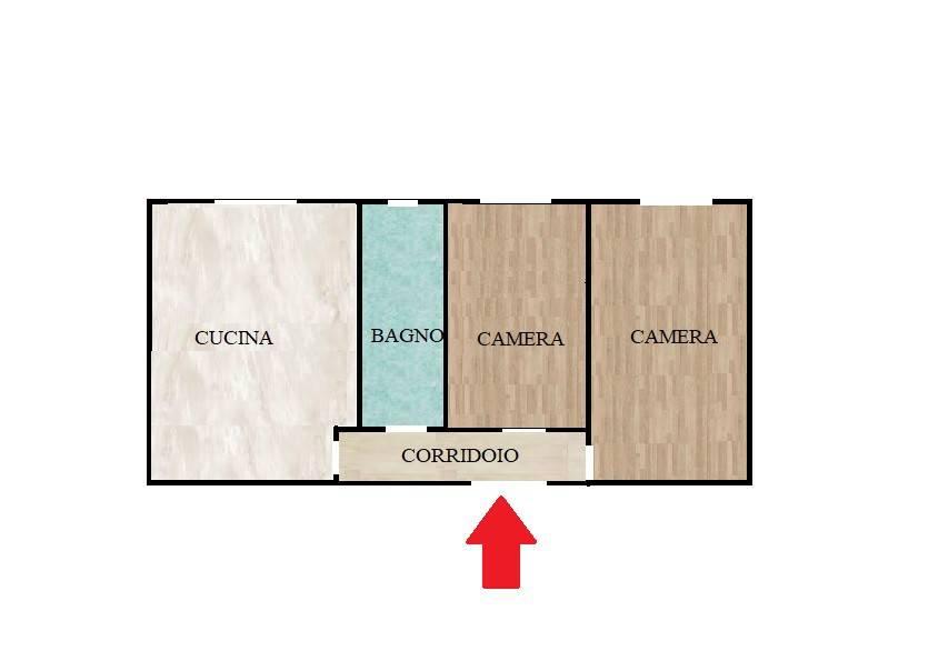 Appartamento in buone condizioni in vendita Rif. 7834918