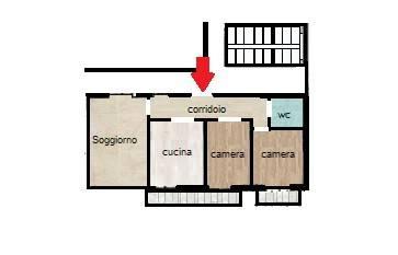 Appartamento in buone condizioni in vendita Rif. 7834919