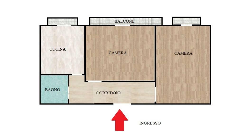 Appartamento in buone condizioni in vendita Rif. 7834920