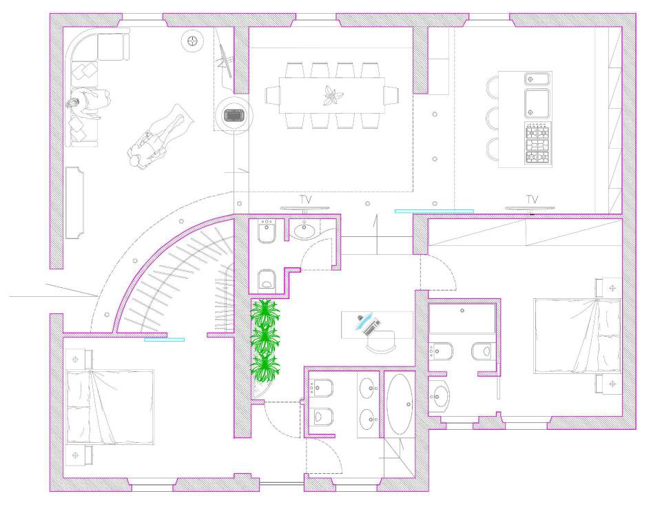 Appartamento da ristrutturare in vendita Rif. 8360662