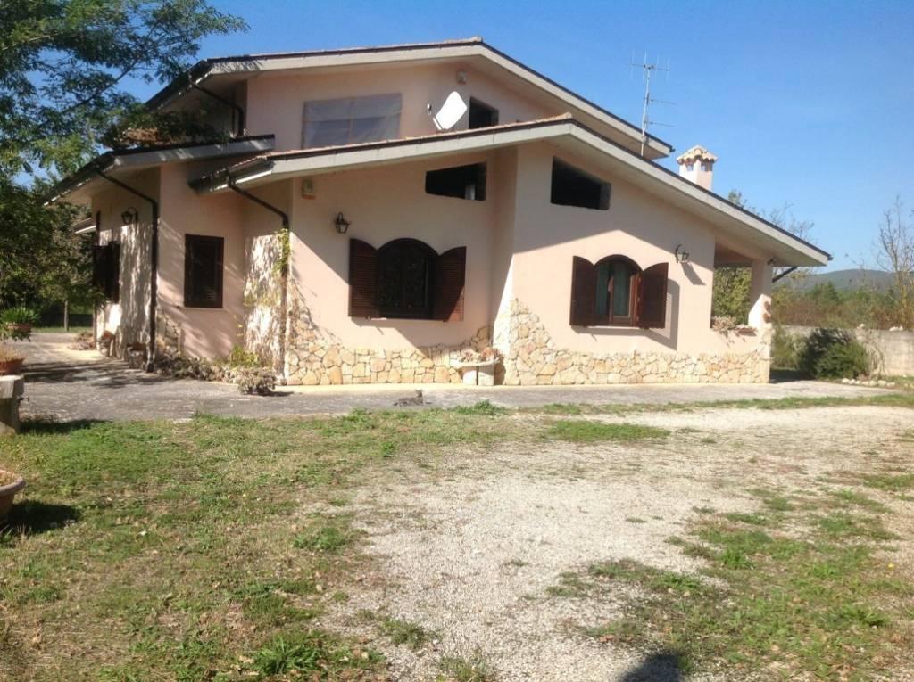 Villa in agro di Sant'Agapito