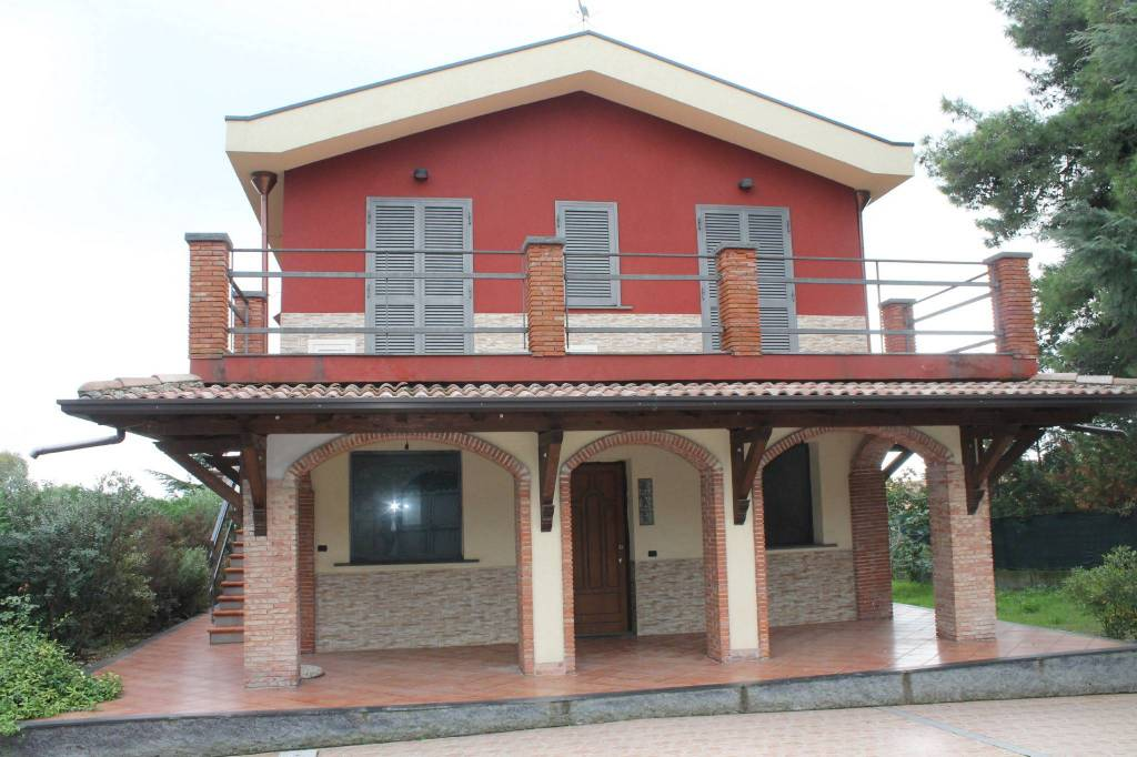 Villa in Vendita a Pedara Centro:  5 locali, 150 mq  - Foto 1