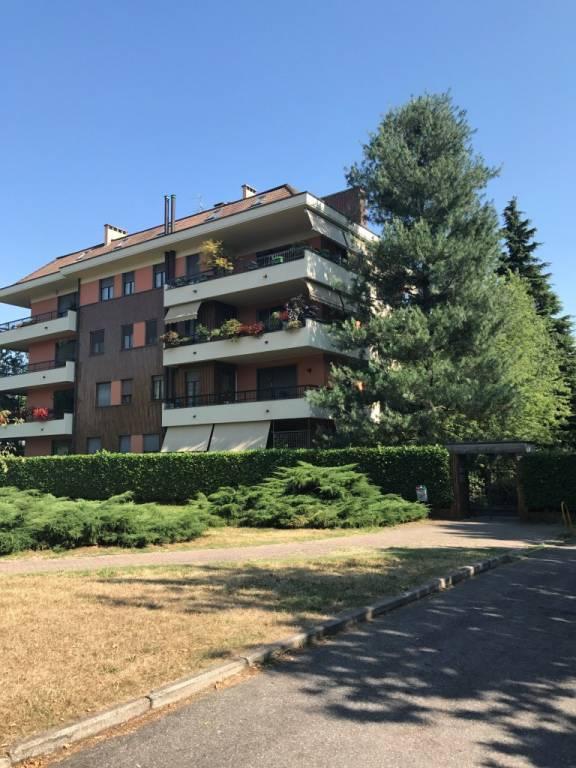 Appartamento in buone condizioni parzialmente arredato in affitto Rif. 8477714