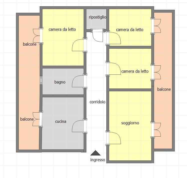 Appartamento in buone condizioni in vendita Rif. 8478781
