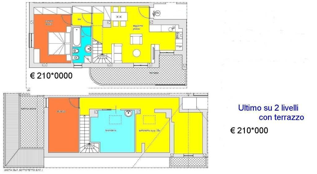 Attico / Mansarda in vendita Rif. 4406619