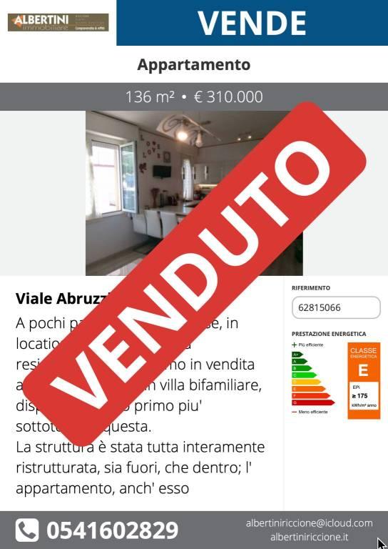 Appartamento quadrilocale in vendita a Riccione (RN)