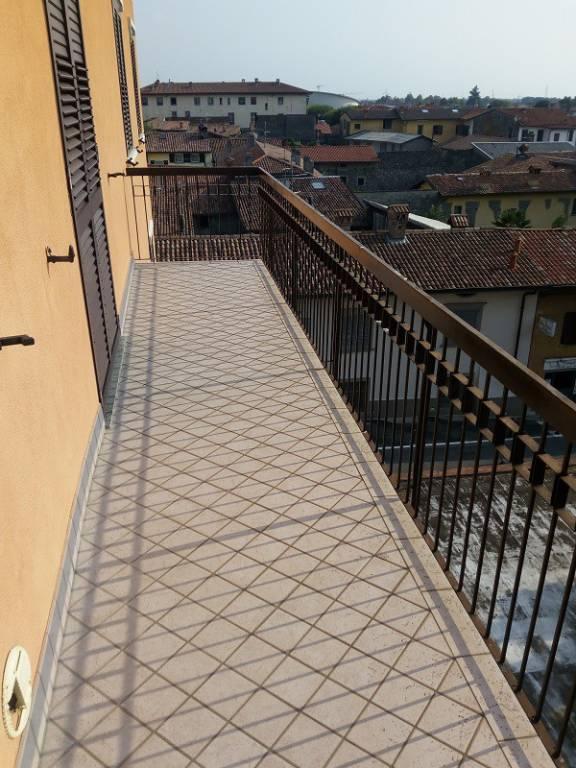 Affitto trilocale Grassobbio Via Roma 8
