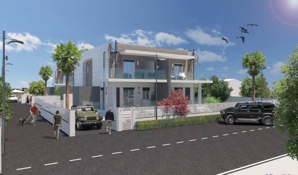 Villa in vendita 3 vani 130 mq.  via della Riserva Grande Roma