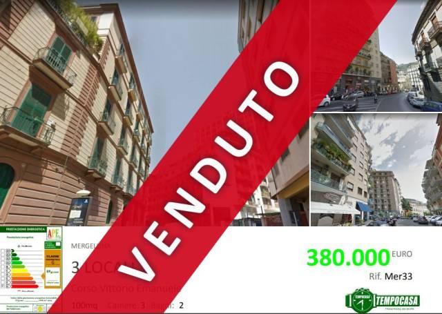 Appartamento in vendita 3 vani 95 mq.  via Vincenzo Arangio Ruiz Napoli