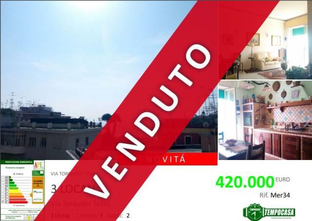 Appartamento in vendita 3 vani 115 mq.  via Torquato Tasso 65 Napoli