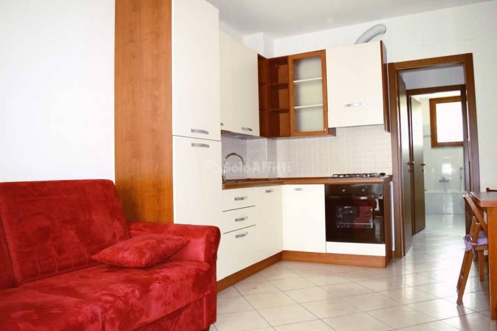 Appartamento in buone condizioni arredato in affitto Rif. 8577525