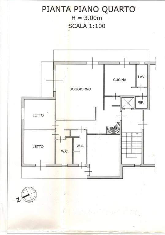 Attico / Mansarda in buone condizioni parzialmente arredato in vendita Rif. 8573429