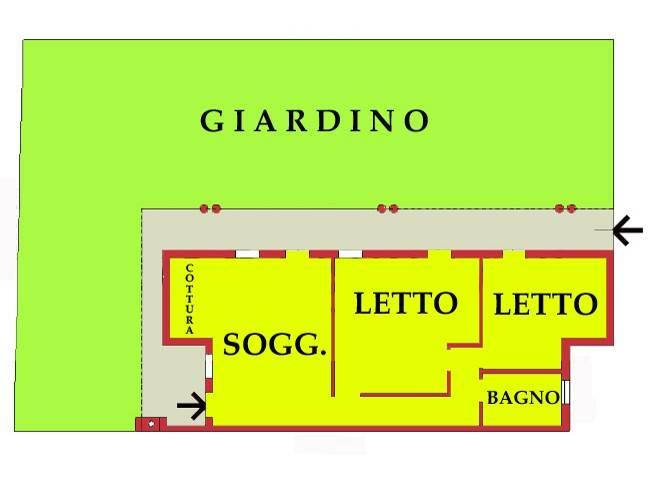 Appartamento in buone condizioni in vendita Rif. 8590132