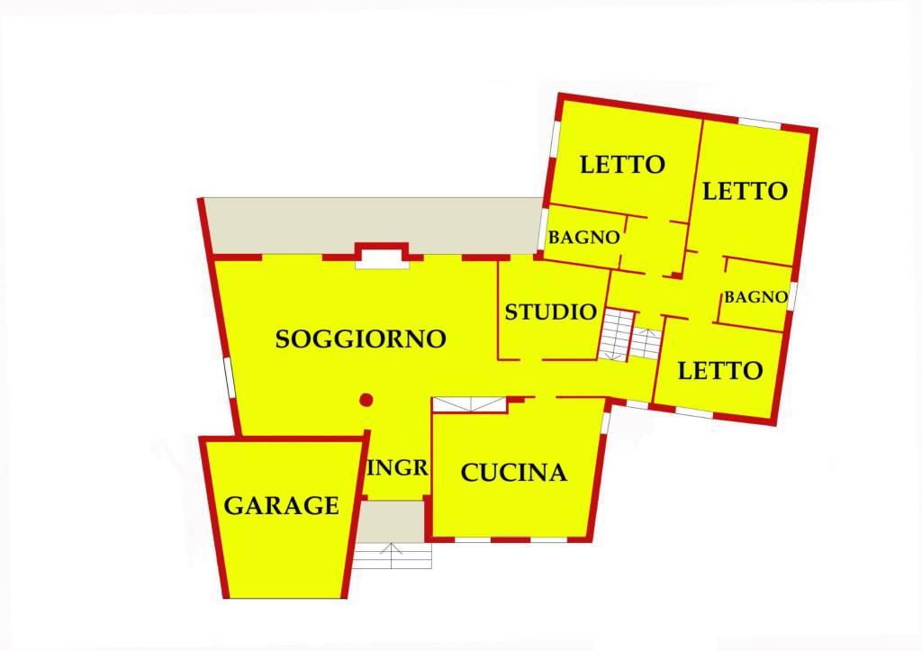 Villa in ottime condizioni parzialmente arredato in vendita Rif. 8605546
