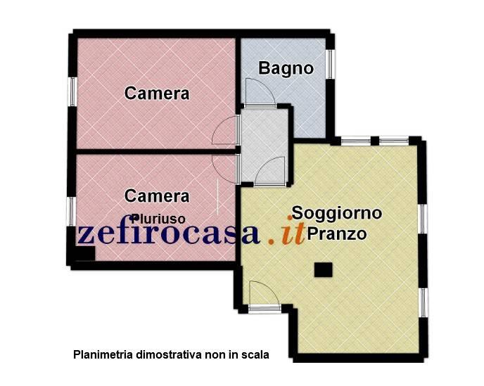 Sant'Agata Bolognese- Appartamento 3 locali per investimento